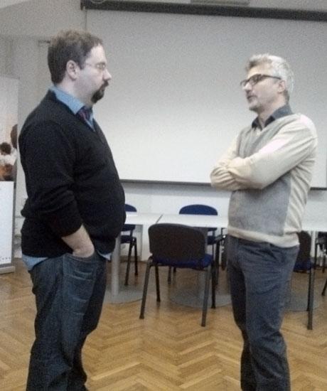 Daniel Rafaelić i Maurizio Braucci