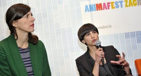 Olinka Vištica i Vjera Matković, producentice Animafesta